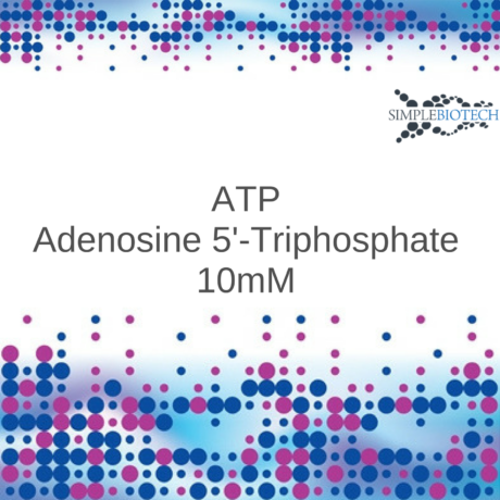 ATP 10mM adjusted to pH 7.5 with Tris base.