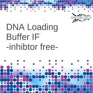 Enzyme friendly DNA loading Dye