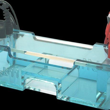 Electrophoresis chamber mini blu Elektrophoresekammer