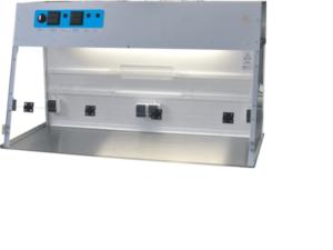 PCR Workstation groß, PCR Werkbank, UVC PCR Box, UV Dead Air Box, PCR hood, PCR Workstation large, PCR bench groß