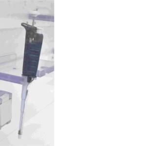 PCR workstation internal power socket pipette rack shelf
