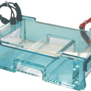 """Elektrophoresekammer """"wide blu"""" electrophoresis system"""