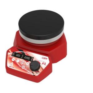 Magnetrührer mit Edelstahl Heizplatte CAPP Rondo CRS-21H | Magnetic Stirrer